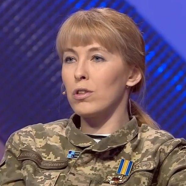 Олена Білозерська: Журналіст під час війни такий самий солдат, тільки фронт його пропаганда